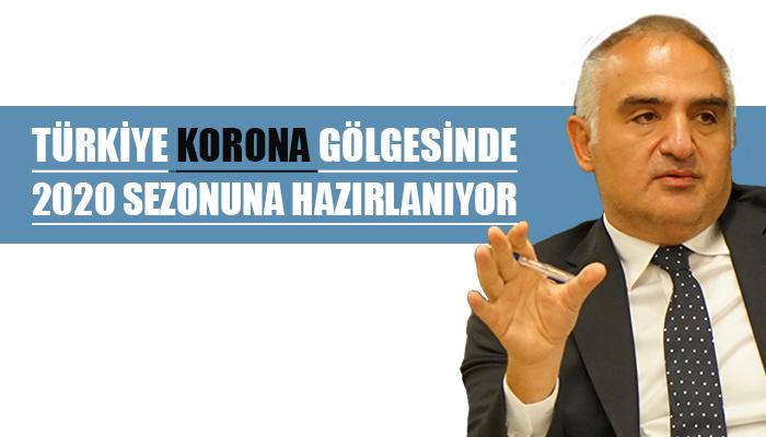 Kültür ve Turizm Bakanı Mehmet Nuri Ersoy-Açık büfeler kalkacak, maske zorunlu olacak