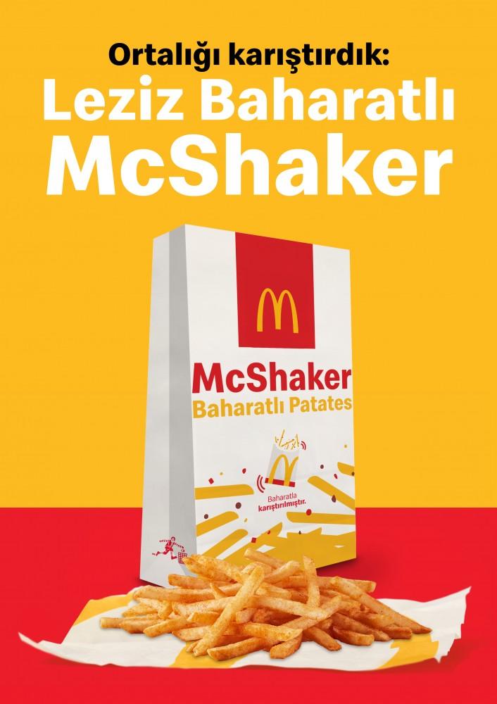 McDonald's'tan patates keyfini ikiye katlayan lezzet: McShaker