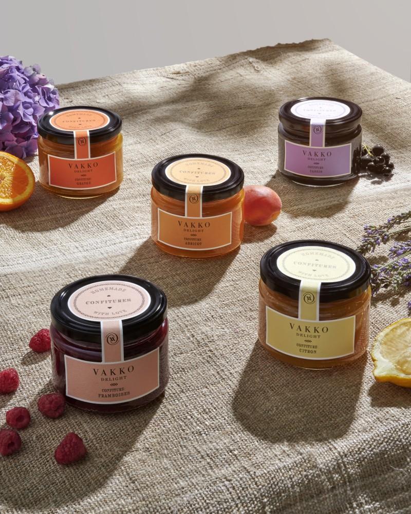 VAKKO DELIGHT tan yeni tatlar: Vakko Delight Confiture - reçel koleksiyonu