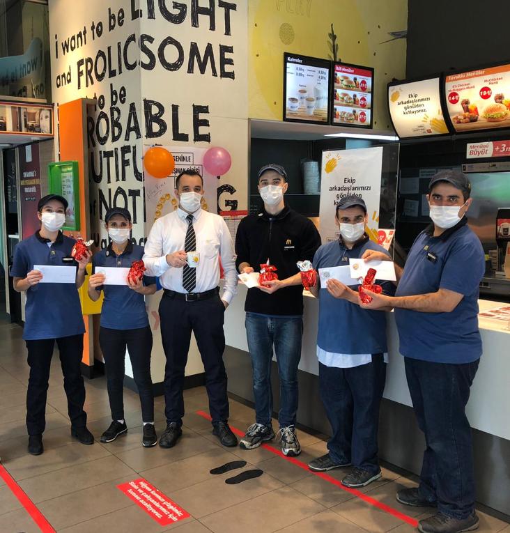 McDonald's, 24 Ekim'i Çalışan Takdir Günü ilan etti: