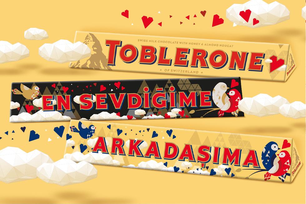 En Tatlı Sevgililer Günü Hediyesi Toblerone'dan