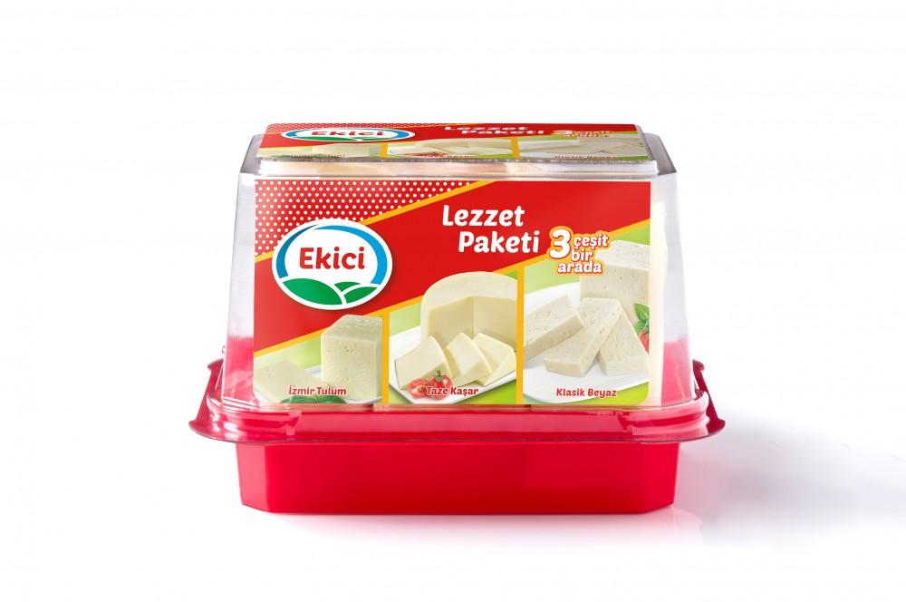 Ekici'den aynı pakette 3 ayrı lezzet:    Ekici Lezzet Paketi