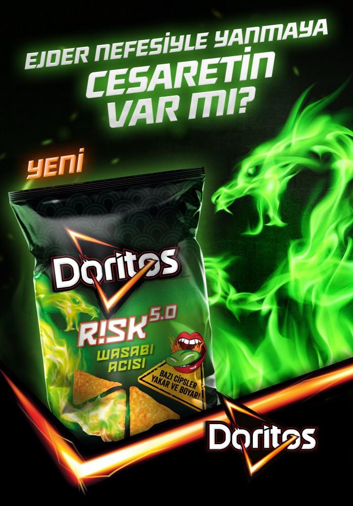 Doritos'tan Gelmiş Geçmiş En İddialı Risk Ürünü Geliyor!