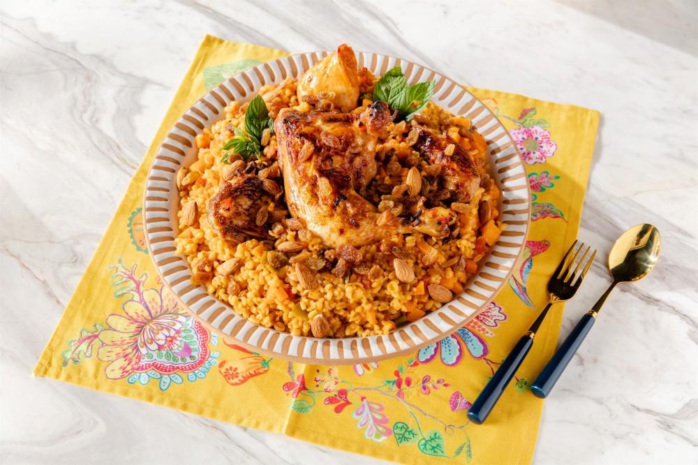 Duru Lezzetlerden bu ayın ilk tarifi Arabistan mutfağından Tavuk Kabsa