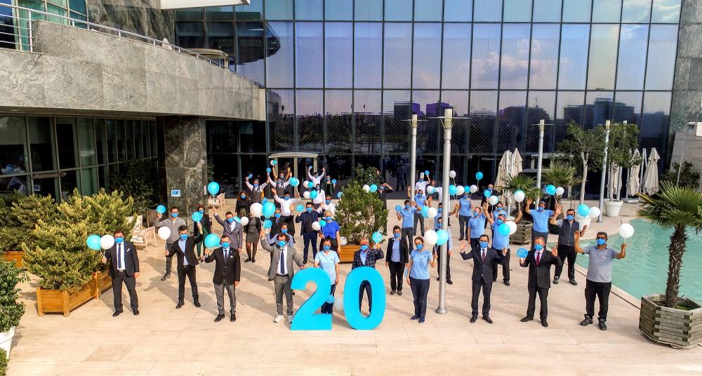 Adana'nın ilk beş yıldızlı uluslararası oteli Adana HiltonSA 20. yılını kutluyor