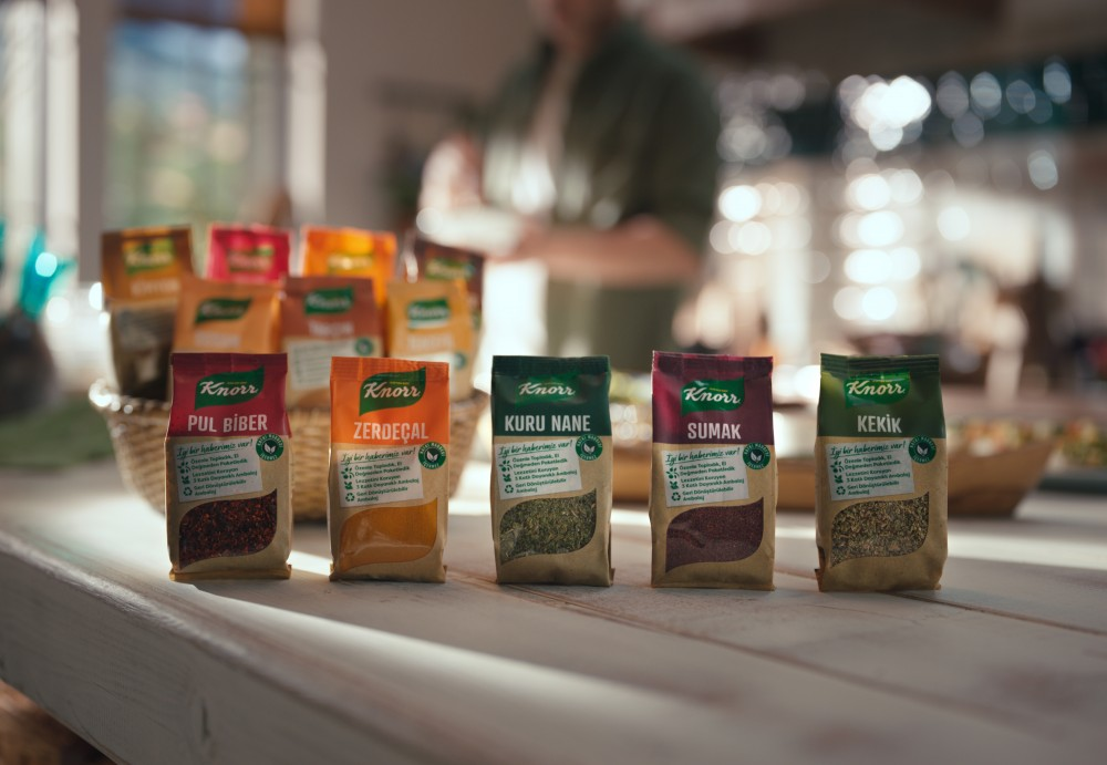 Knorr Yeni Baharat Ailesi  Sofraları Lezzetlendirmeye Geliyor.