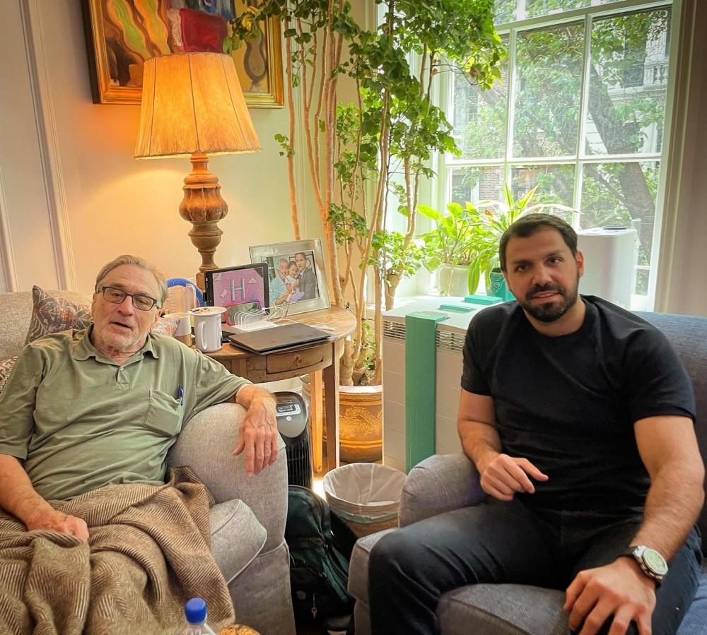 Oscarlı oyuncu Robert De Niro Nobu Istanbul'a geleceğini müjdeledi