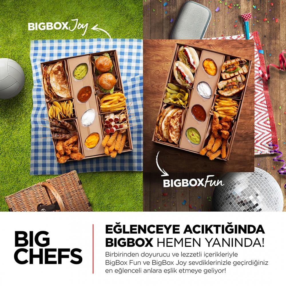 BigChefs, en sevilen lezzetlerini BigBox kutularına sığdırdı!