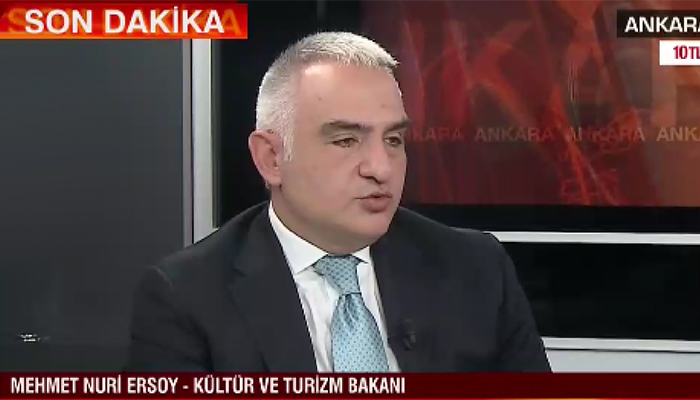 Mehmet Nuri Ersoy'dan turizm sektörüne iki yeni haber