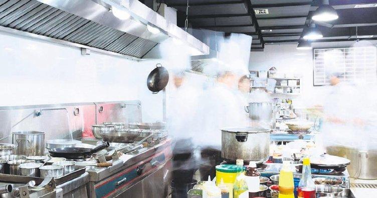 Mutfakta hayalet var