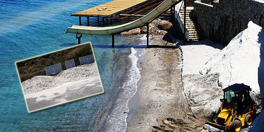 Bodrum'daki 2 otelin mermer tozlu 'Maldivler Sahili' hayaline 345 Bin TL ceza