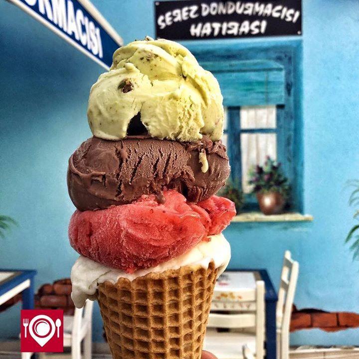 Serez Dondurmacısı'ndan veganlar için sütsüz, diyabet hastaları için şekersiz dondurmalar