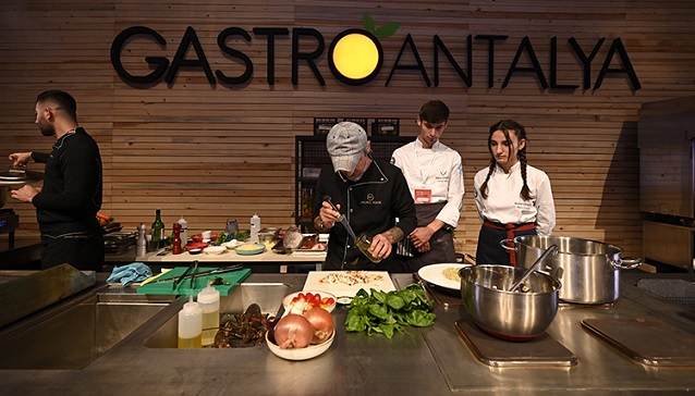 Gastroantalya, Anfaş Hotel Equipment ve Food Product ile eş zamanlı düzenlenecek!