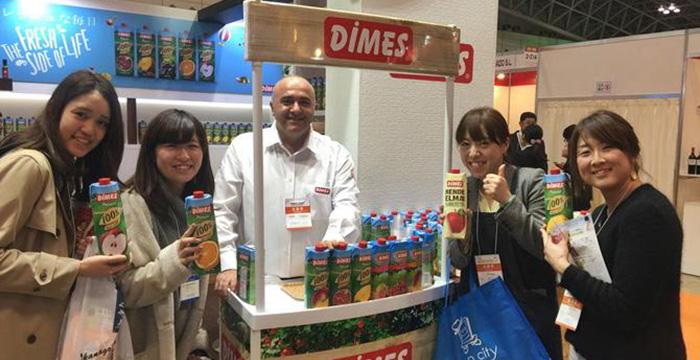 Dimes, Japonya'da büyümeyi hedefliyor
