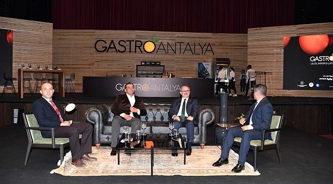 Gastronomi Dünyası Antalya'da biraraya geldi