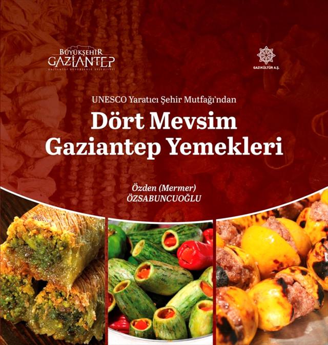 Gastronomi kentinin yemekleri kitapta toplandı