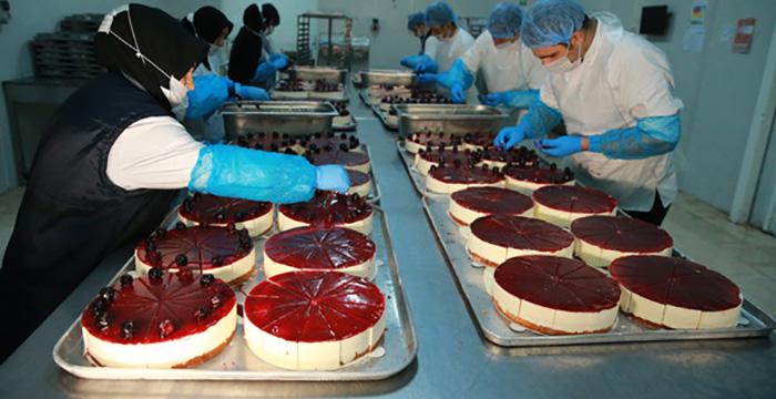 Pastayı dondurup 12 ülkeye ihraç ediyorlar