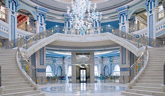 Ritz Carlton prenslerin ve zenginlerin nezarethanesi oldu