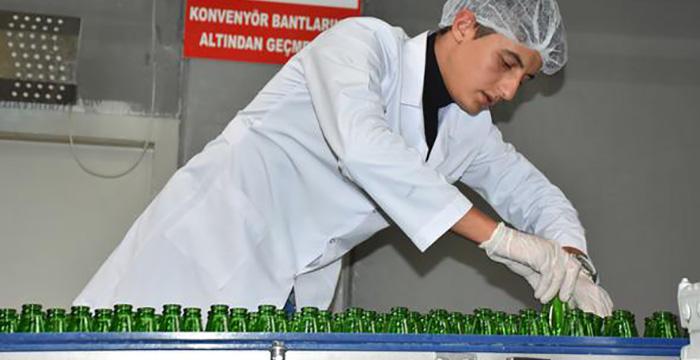 Köyünde gördü fabrikasını kurdu! Şimdi 17 ülkeye ihraç ediyor