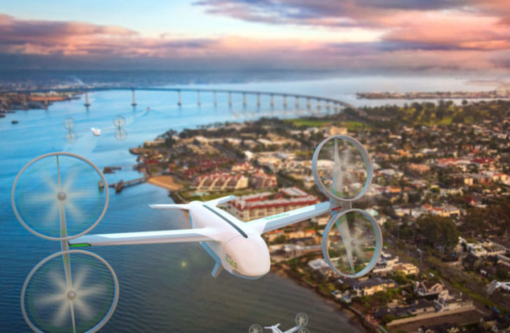 Uber Eats drone ile yemek teslimatı yapacak!