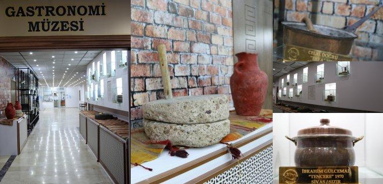 Sivas\'ta Gelenekten Geleceğe Gastronomi Müzesi 24 saat ziyarete açık