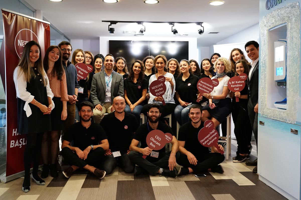 NESCAFÉ Marka Elçisi Projesi 19 farklı üniversite gerçekleşti