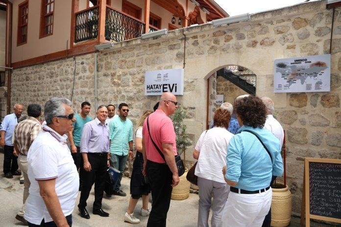 Unesco Hatay gastronomi evi misafirlerini ağırladı