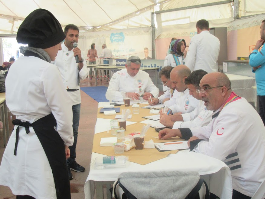 1.İYAGAD Ulusal Yemek Yarışması Bitti