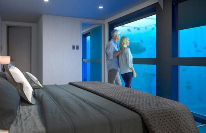 Büyük Set Resifi'ne 10 Milyon Dolarlık sualtı oteli