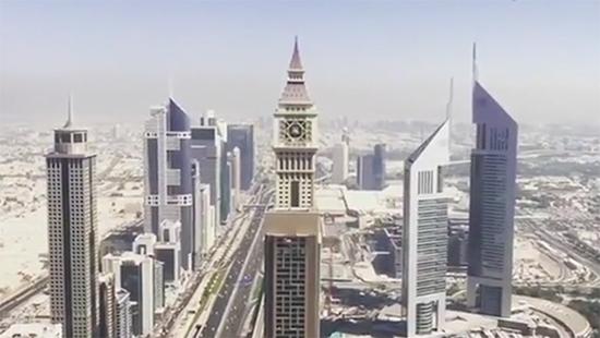 Dünyanın en yüksek oteli Gevora Hotel, Dubai\'de kapılarını açıyor.
