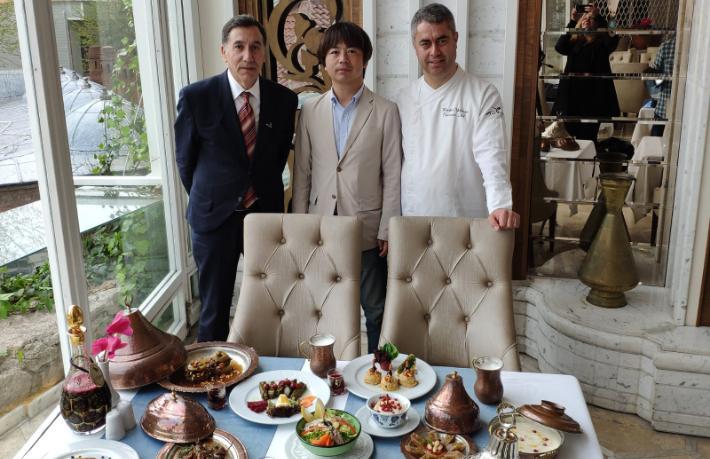 Matbah Restaurant Saray Mutfağı'nı Japonya'da tanıtacak