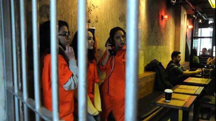 Yalova\\\'da hapishane konseptli kafe açıldı
