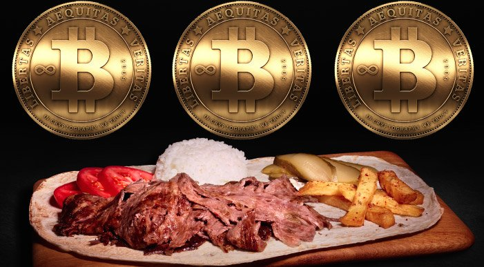 Ünlü dönerci bitcoin ile ödeme alacak
