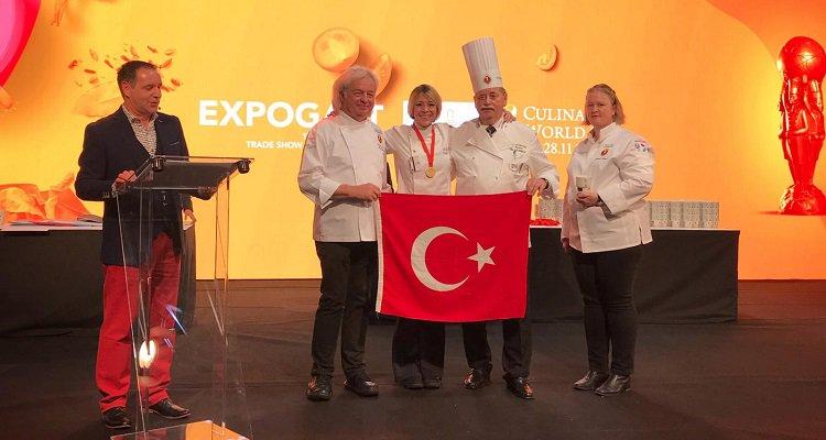 Türk kadın şefin büyük başarısı!