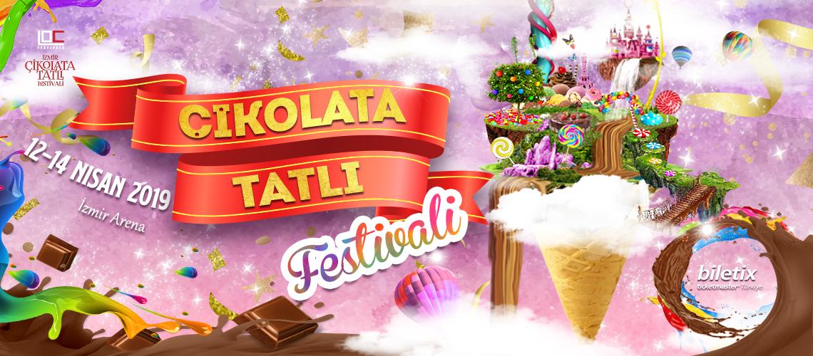 İzmir Çikolata Festivali Çikolataseverleri Bekliyor : 12-13-14 Nisan 2019