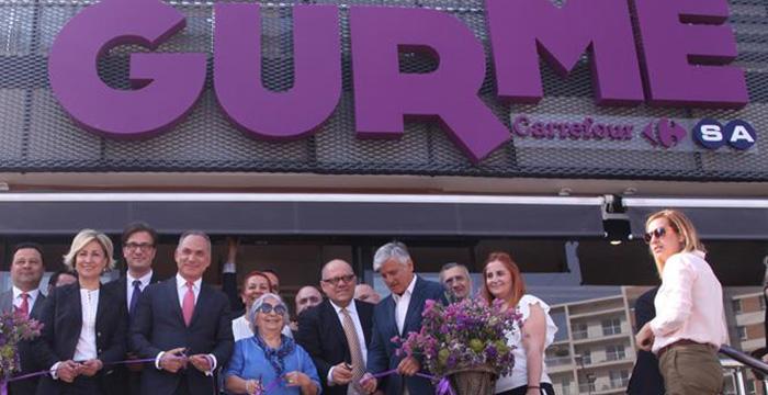 CarrefourSA Yenilediği 'Gurme' Konseptiyle İlk Marketini Açtı