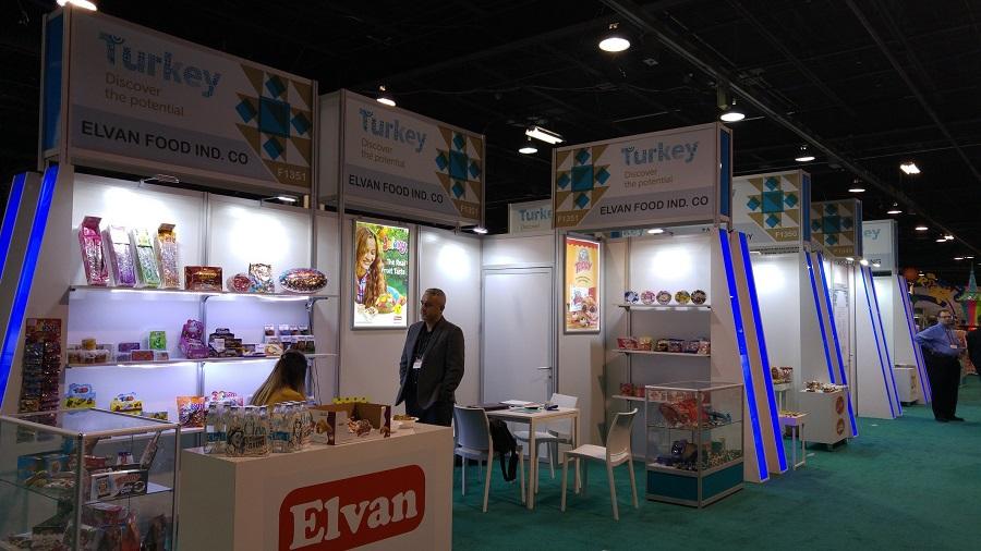 Türk firmaları ABD'de ürünlerini tanıttı!