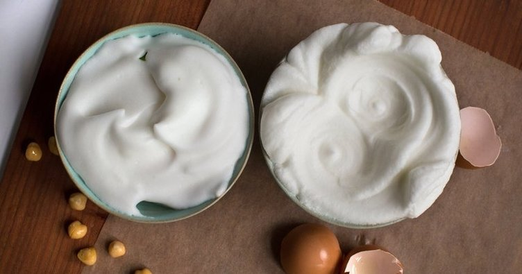 Yumurta alternatifi bir gıda Aquafaba nedir? Ve nasıl kullanılır?