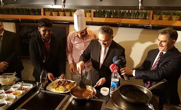Ankara'da Pakistan Yemekleri Festivali düzenlendi