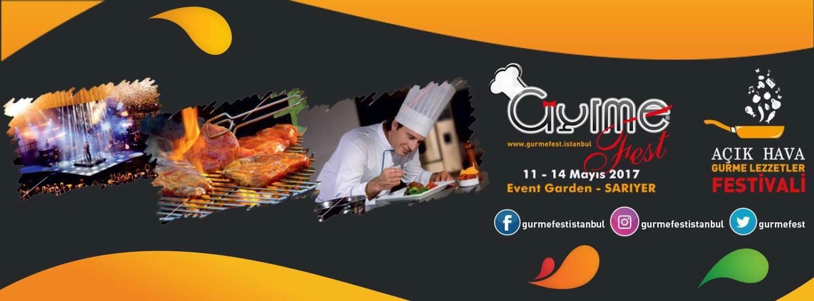 Açık Hava Gurme Lezzetler Festivali GurmeFest – İstanbul için geri sayım başladı.