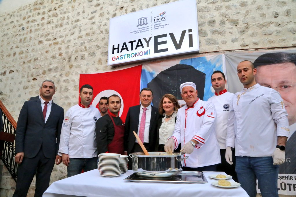 Unesco Hatay Gastronomi Evi'nin Açılışı Gerçekleşti