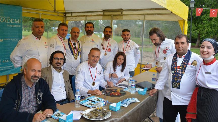 Gastronomi kentinde ulusal yemek yarışması
