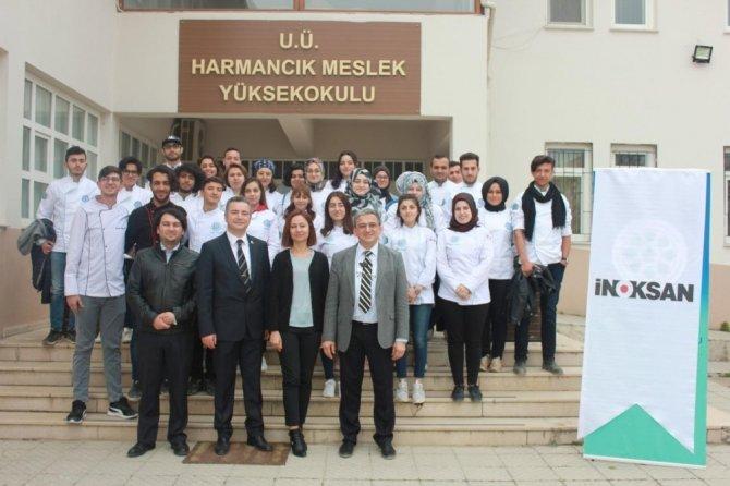 Genç aşçılara İnoksan'dan destek