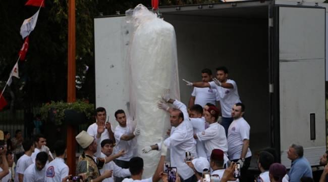 Kahramanmaraş\'ta Dondurma Festivali Renkli Anlara Sahne Oldu