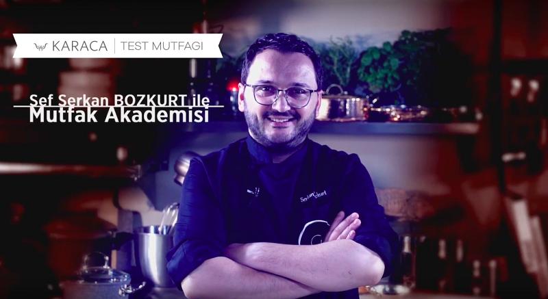 Şef Serkan Bozkurt'tan mutfak sektörüne yeni soluk
