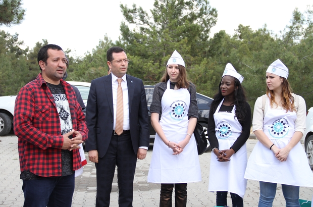 Avrupalı aşçı adayları Gaziantep yemeklerini öğreniyor