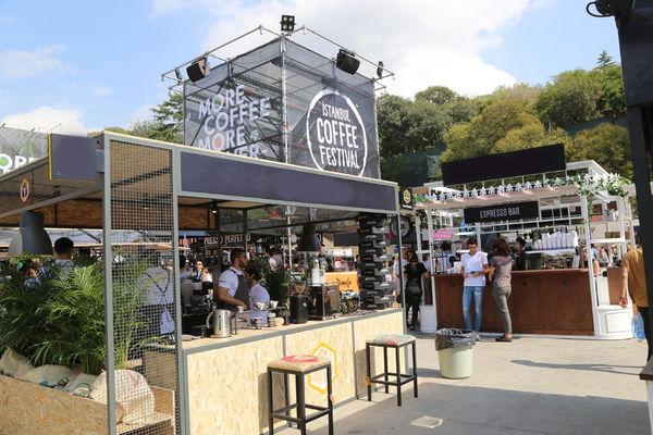 İstanbul Coffee Festival\' başladı