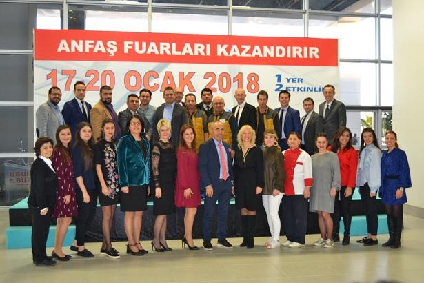 """Antalya Expo Center'da """"eş zamanlı"""" rekor"""
