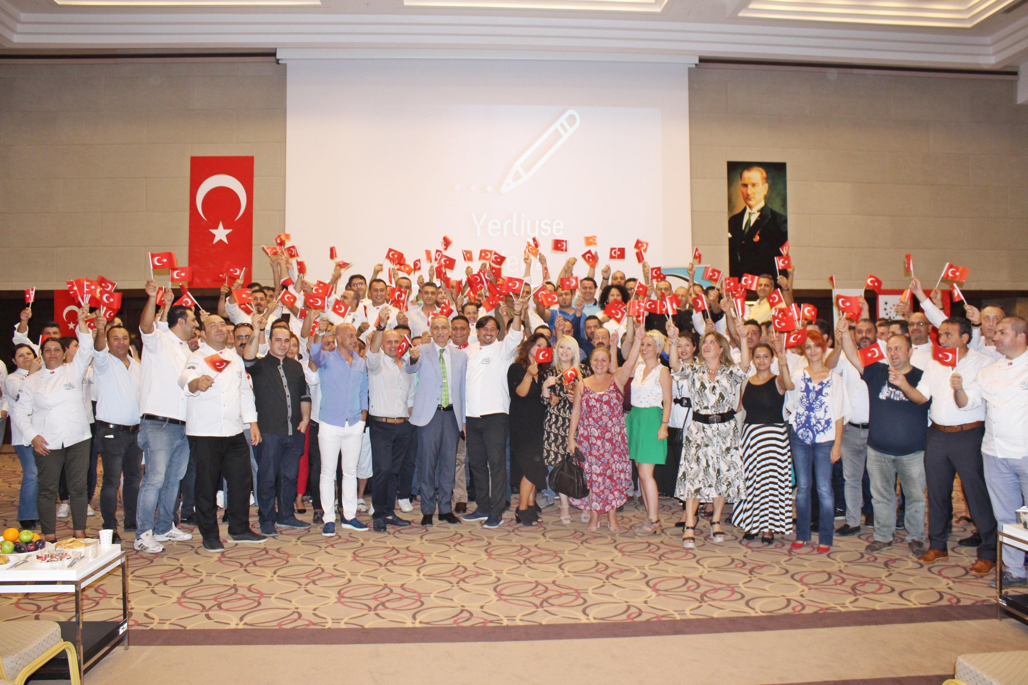 Antalyalı Şeflerden Milli Proje: 869 Yerliyse Yeriz