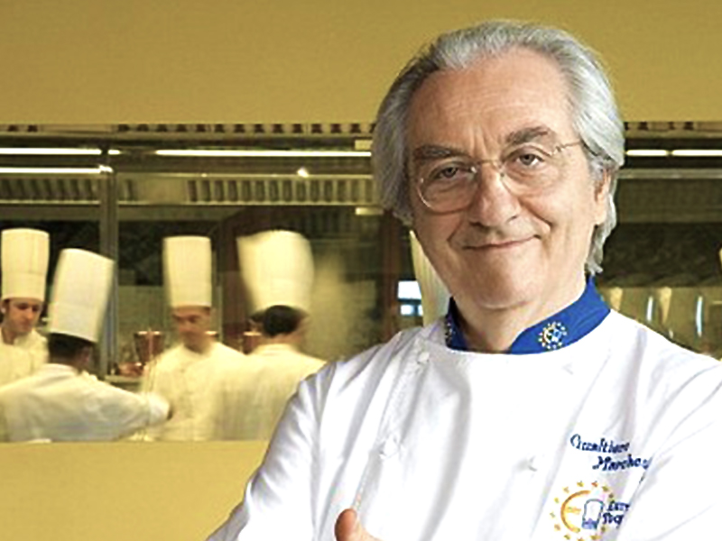 Dünyanın en başarılı İtalyan şeflerinden Gualtiero Marchesi hayatını kaybetti!